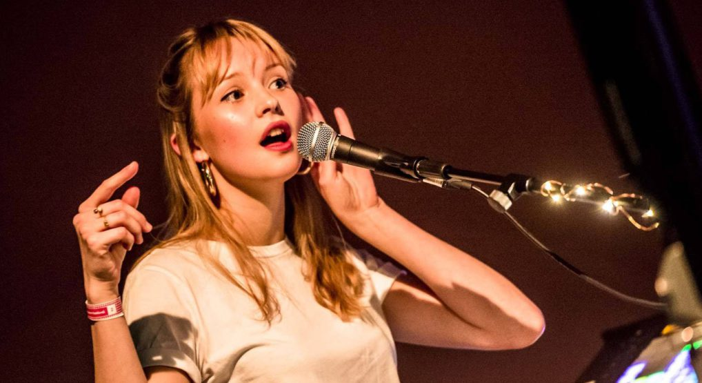 Angèle Van Laeken en concert